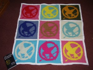 Mockingjay Blanket