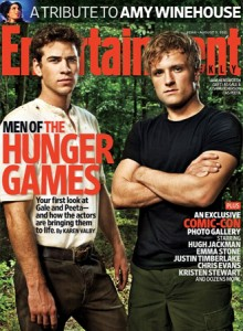 Gale and Peeta Magazine Cover