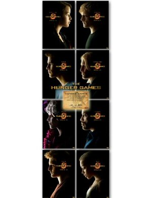 Hunger Games Poster Set