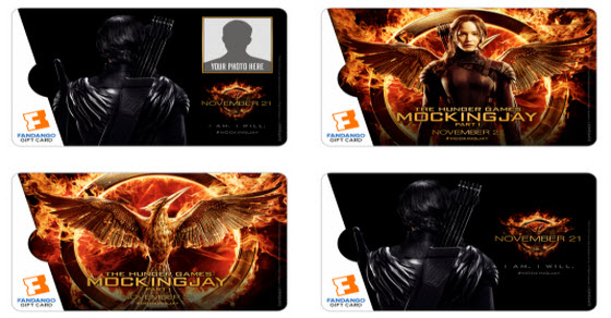 Mockingjay Gift Cards