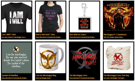 30% Off Hunger Games Gifts