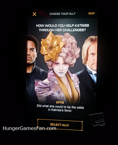 Hunger Games Exhibition Mobile